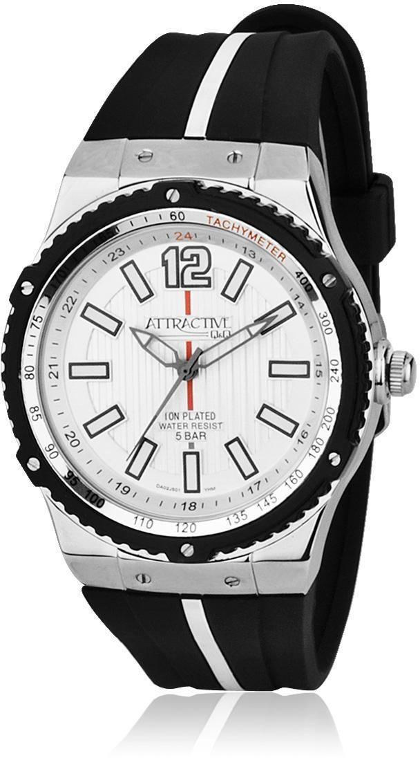Наручные мужские часы Q&Q DA02J501Y оригинал