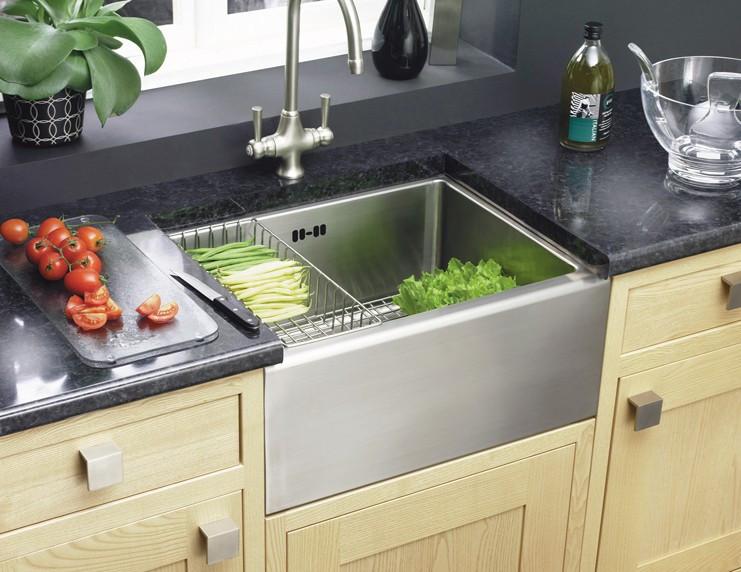 Мойка кухонная Astracast Belfast Steel 1.0B Sink