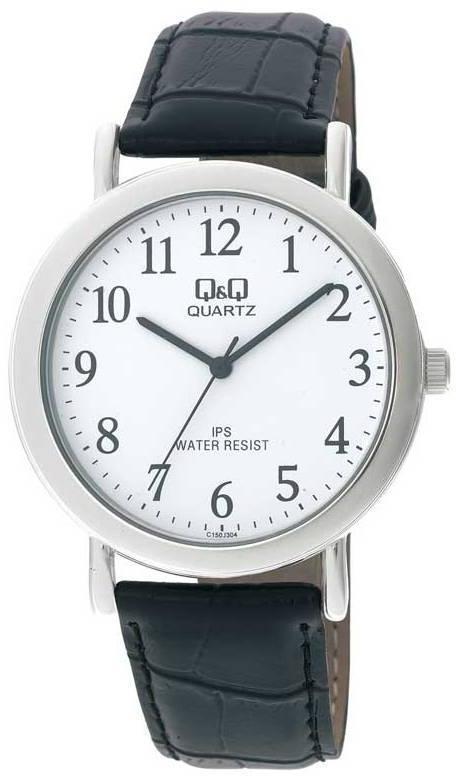 Наручные мужские часы Q&Q C150J304Y оригинал