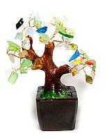 Дерево с разноцветными камнями (15х16х14 см)