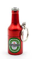 "Зажигалка газовая - брелок ""Бутылка Пива"" 6х2,5х2,5см (29498)"