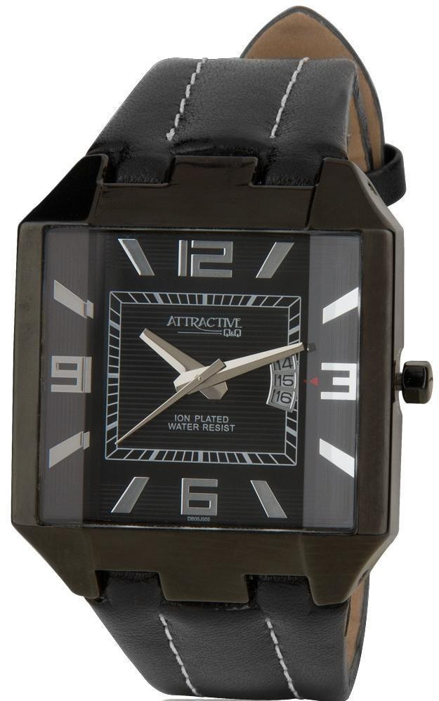 Наручные мужские часы Q&Q DB06J505Y оригинал