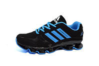 Кроссовки Adidas Mega Bounce Fly Kint Black Blue (реплика)
