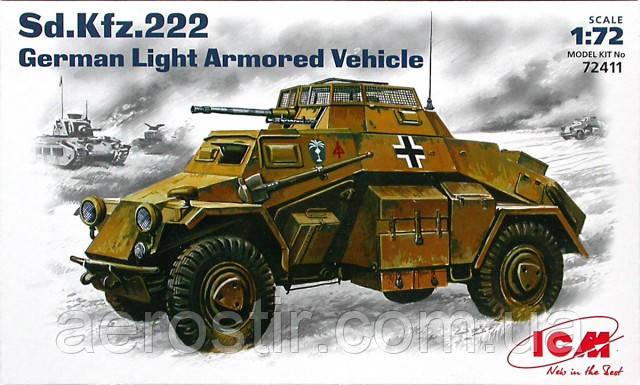 Sd Kfz.222 1/72 ICM 72411
