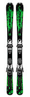 Горные лыжи детские Head Monster SLR II 117-157 cm + SLR 7.5 AC black/neon green (MD)
