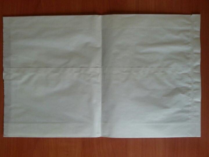 Пакет саше белый 310х200х50 (2.1199) 1000 шт