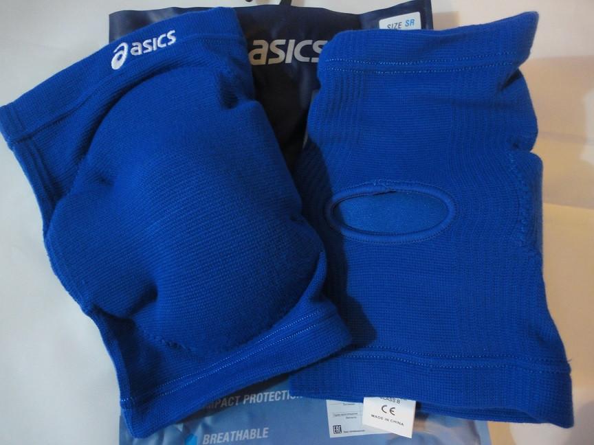 Волейбольные наколенники ASICS GEL KNEE PAD, размер SR, синие - S4S-Интернет магазин спортивных товаров и инвентаря,купить спортивный инвентарь от производителя в Харькове