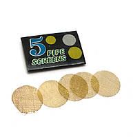 Сетки для курительных трубок бронзовые d-20мм 5шт (29243)