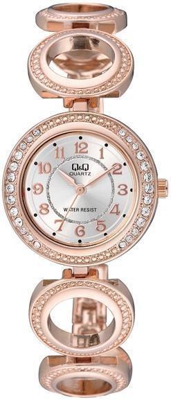 Наручные женские часы Q&Q F501J004Y оригинал
