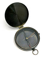 Компас с крышкой бронза d-8,h-1,5см (29259)