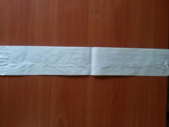 Пакет саше білий 560х90х40 (1201) 1000 шт