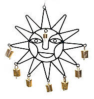 """Подвеска """"Солнце"""" с колокольчиками 50,5х31х2,5см (5800)"""
