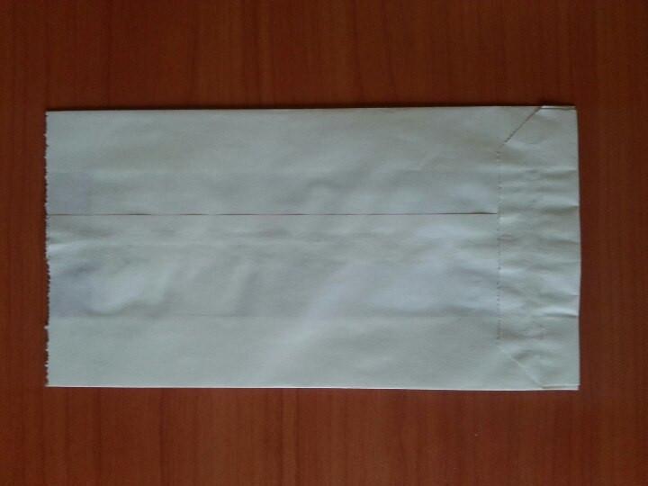 Пакет саше белый 170х100х60 (549)