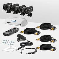 Система видеонаблюдения «установи сам» Страж Превент 4У+ (УЛ-700К-1.УЛ-480К-3)
