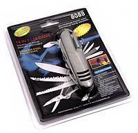 Нож перочинный 14в1 9х2,5х2см (29596)