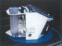 Инжекторная дробеструйная мими-кабина Microjet 1, производства компании GLÄSNER, ФРГ