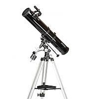 Телескоп Arsenal - Synta 114/900, EQ1, рефлектор Ньютона, с окулярами PL6.3 и PL17