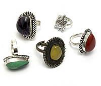 Кольцо с камнем (29293)