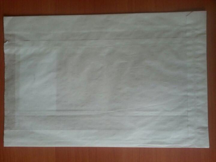 Пакет саше белый 270х160х60 (390)