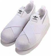 Слипоны Adidas Superstar Slip On White - 980