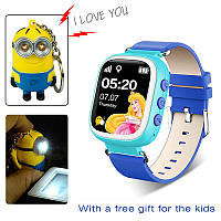 Детские умные Smart часы Q80, WiFi