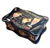 """Шкатулка для чайных пакетов """"Кофейная"""" (26*15см) ольха"""