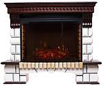 Электрические камины - красивое отопление без дымохода!