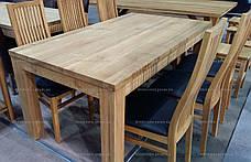 Стол дубовый Shepit (Шепит) 1400 нераскладной GOOD WOOD Рускополянский Мебельный Комбинат Явир, фото 3