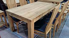 Стол дубовый Shepit (Шепит) 1400 нераскладной GOOD WOOD Рускополянский Мебельный Комбинат Явир, фото 2