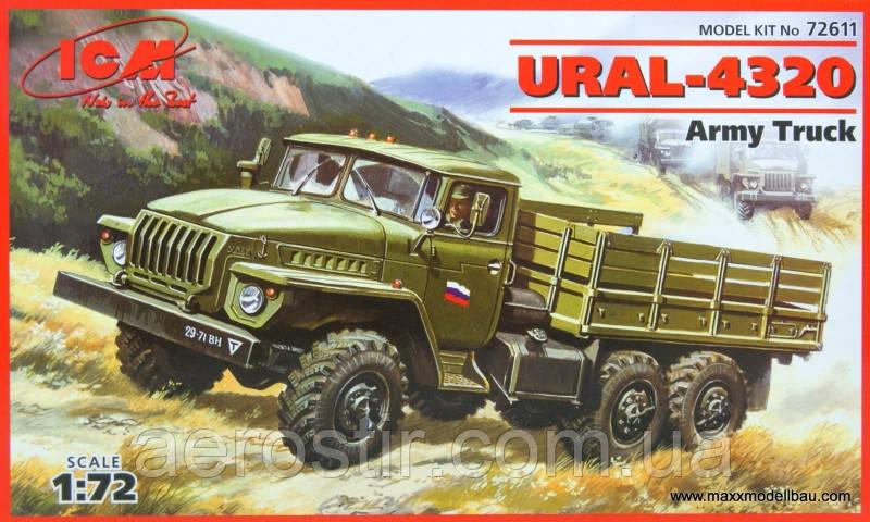 УРАЛ-4320 1/72 ICM 72611