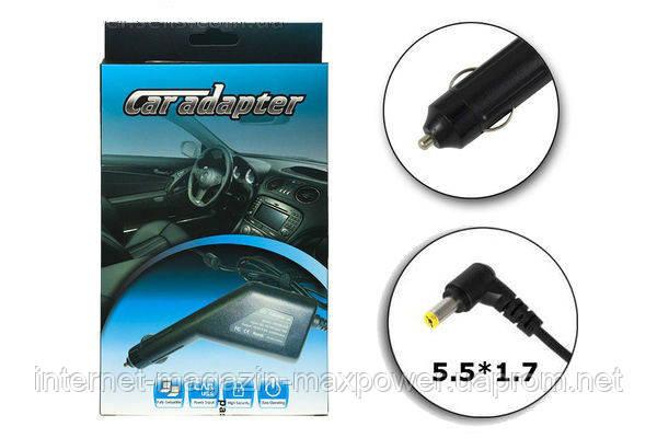 Автомобильное зарядное устройство для ноутбука Acer 19V 3.42A 65W (5.5/1.7)