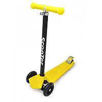 Самокат Maraton Scooter Maxi + желтый