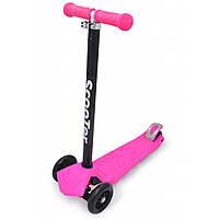 Самокат Maraton Scooter Maxi + розовый