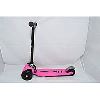 Самокат Maraton Scooter Trolo Maxi Plus розовый
