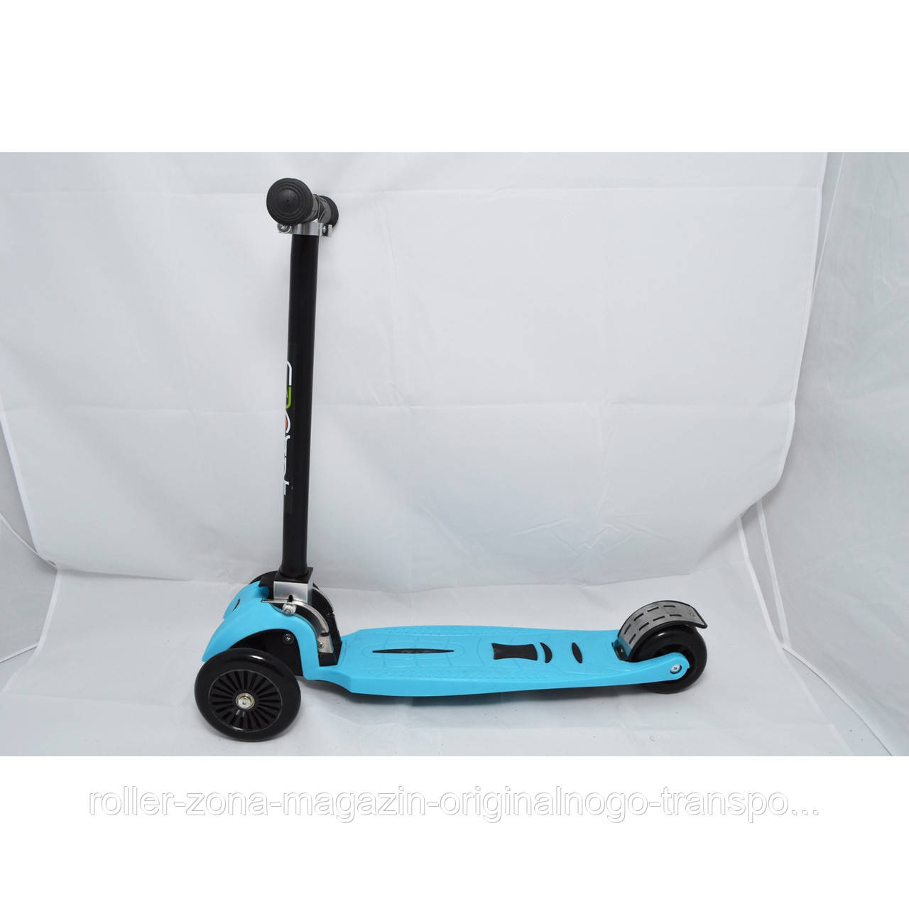 Самокат Maraton Scooter Trolo Maxi Plus голубой