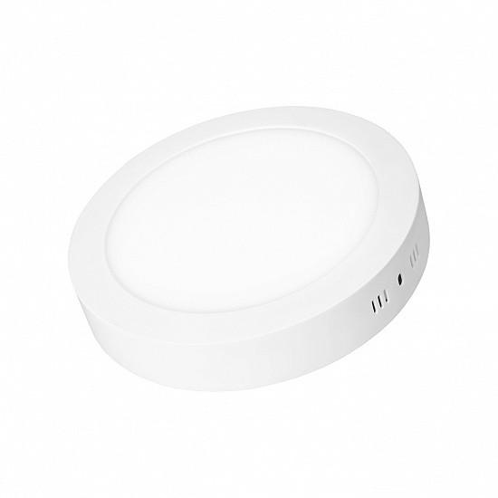 Светильник EUROLAMP LED круглый накладной матовый 6W 4000K (LED-NLR-6/4(Е))