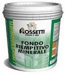 Грунт для толстослойных и фактурных материалов FONDO RIEMPITIVO MINERALE. Rossetti
