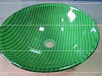 Умывальник стеклянный круглый 420 мм (HR 3310)