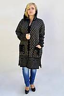 Куртка с капюшоном на махеровой основе