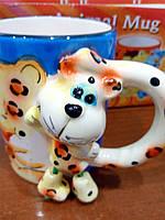 Чашка детская керамическая подарочная