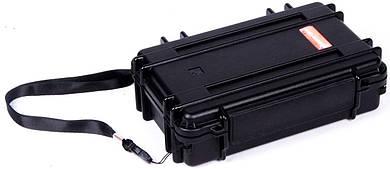 Небольшой ударопрочный пластиковый кейс MIRKOCASE 171004 черный