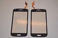Оригинальный тачскрин сенсор сенсорное стекло Samsung Galaxy Core i8260 i8262 темно-синий Synaptics самоклейка