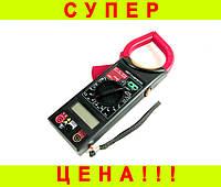 Мультиметр + токоизмерительные клещи DT266FT + ПОДАРОК: Держатель для телефонa L-302