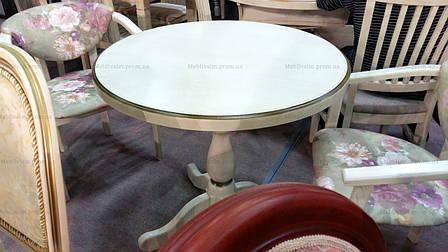Стол обеденный круглый К-1 GOOD WOOD Рускополянский Мебельный Комбинат Явир, фото 2