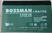 Аккумуляторы к электровелосипедам Bossman 6-DZM-20E