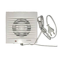 Вентилятор бытовой DOSPEL PLAY Classic 100 WP с шнурковым выключателем и электрокабелем с вилкой