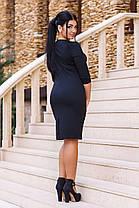 """Д385/1 Платье """"Динара"""" размеры 48-56, фото 2"""