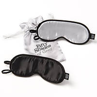 Маски для глаз - Fifty Shades of Grey Soft Twin Blindfold Set, фото 1