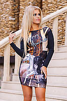 "Д3081 Платье ""Мустанг"" Турция размер 42-44"
