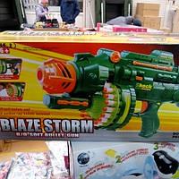Детский автомат на присосках с мягкими пулями 7002